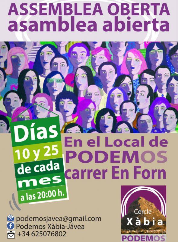 Asambleas para la ciudadanía de Podemos