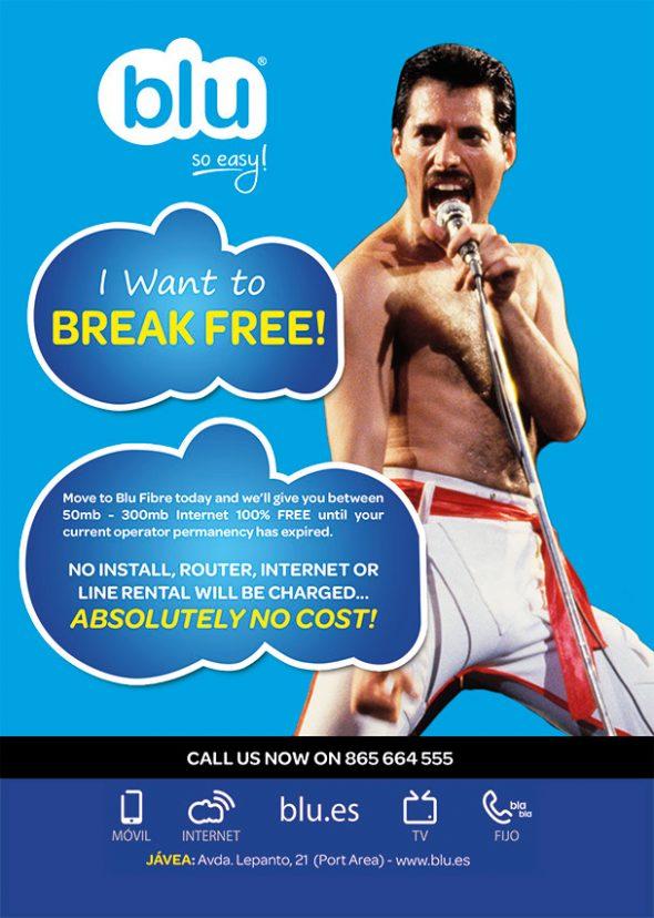 Blu Break Free