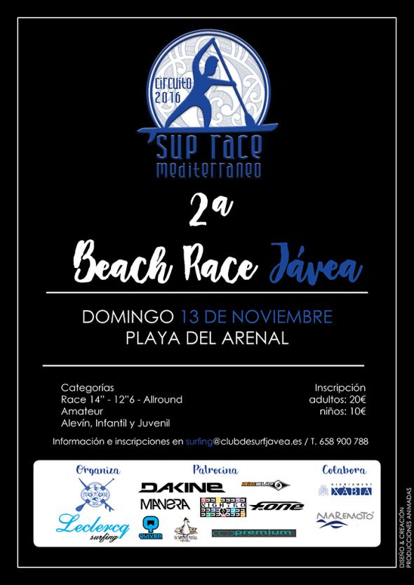 cartel-2ª-beach-race-Leclercq-Surfing