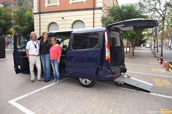 Cotxe adaptat per a Alberto