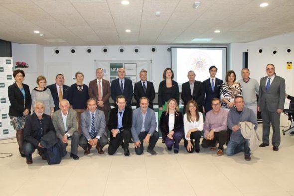 Grupo de profesores de la UNED