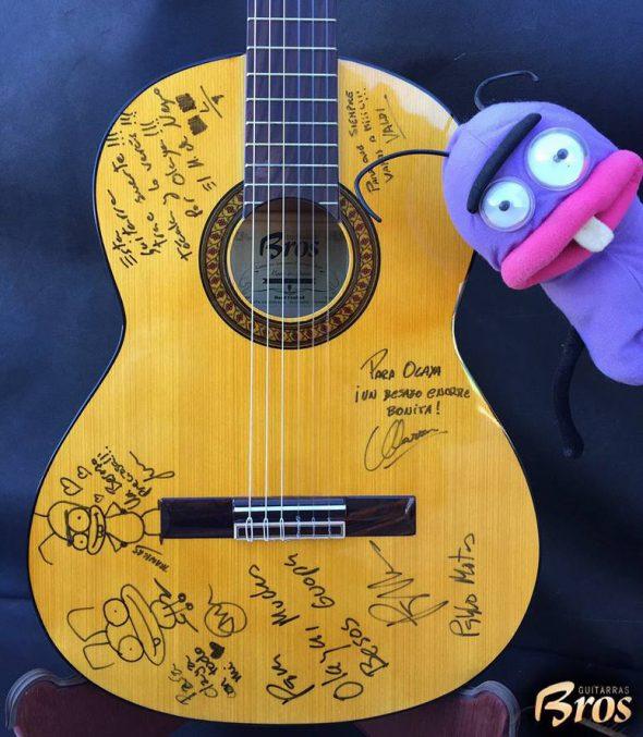 Guitarra para olaya
