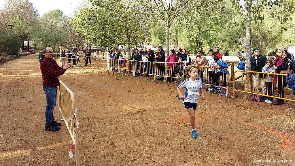 Marco García corriendo en Pinosol