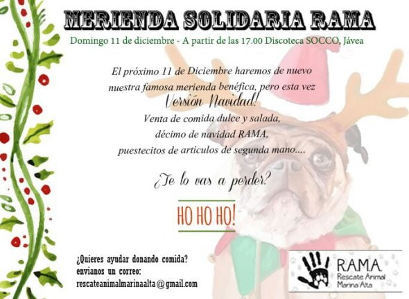 Merienda solidaria RAMA