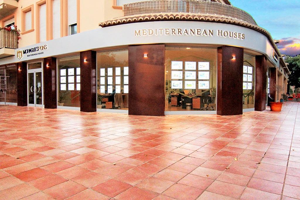 MORAGUESPONS Mediterranean Houses-entrance