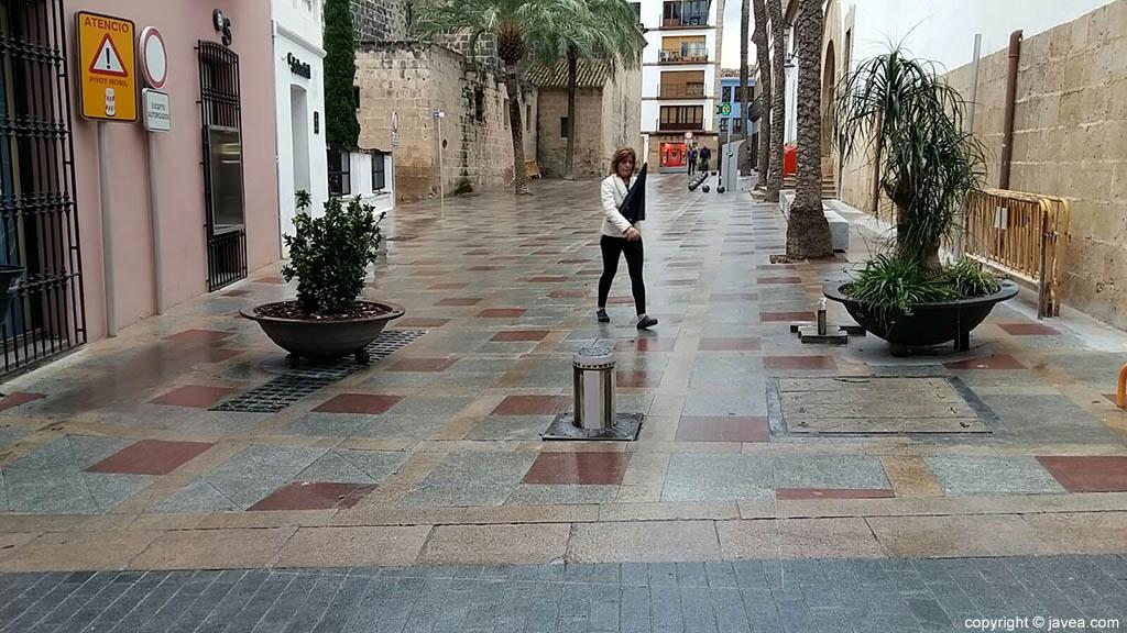 Plaza Celestino Pons peatonal