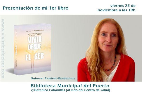Presentación del libro 'Vivir desde el Ser'
