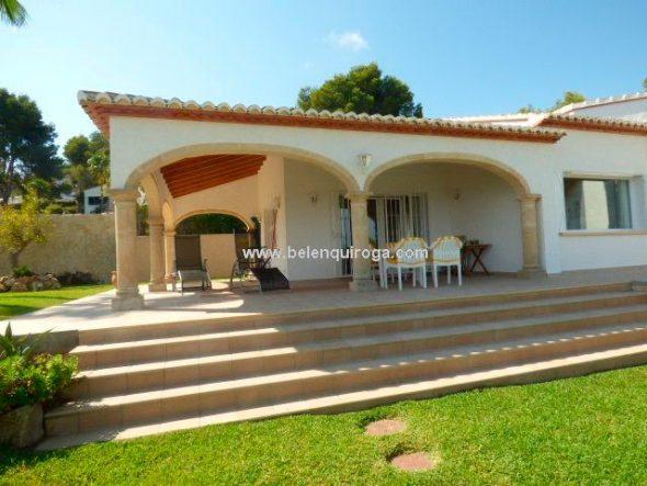 Superbe villa avec vue sur la mer tosalet j vea for Inmobiliaria quiroga