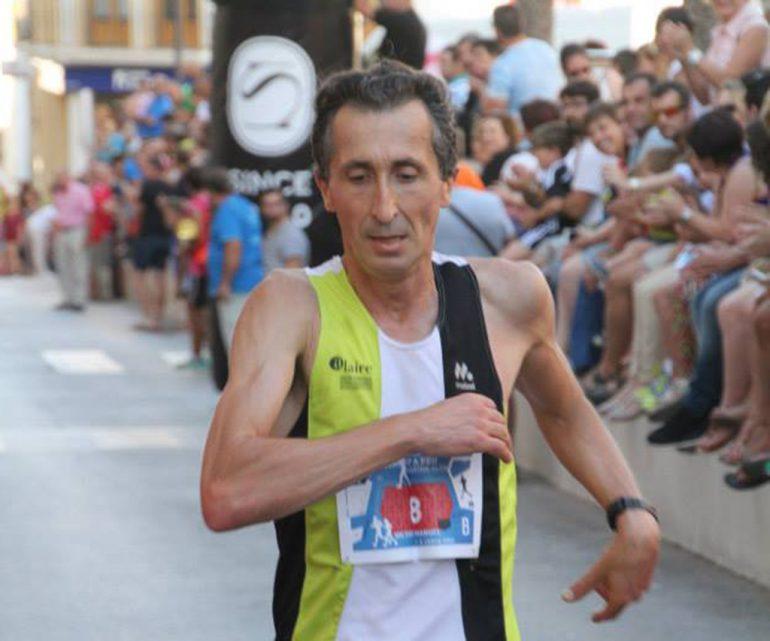 Víctor Fernández tras acabar una carrera