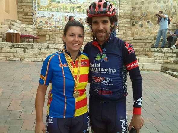 Campeona Autonómica Maratón 2015 en Cofrentes