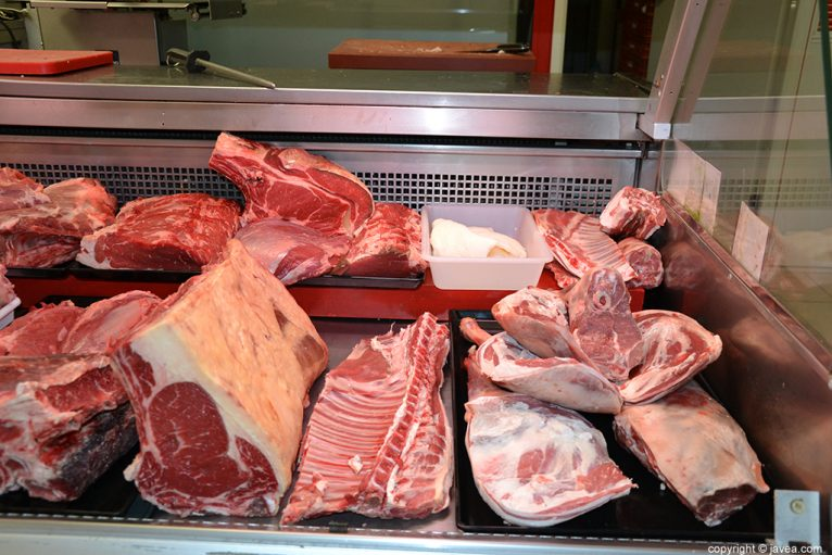 Carne de 1ª calidad en Marqués Soler