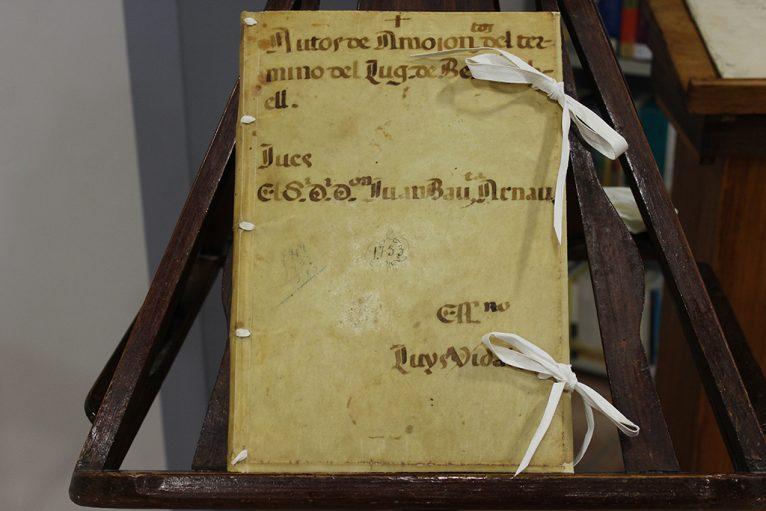 Documento restaurado