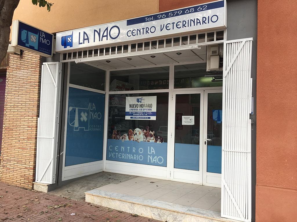 Entrada Centre Veterinari La Nau