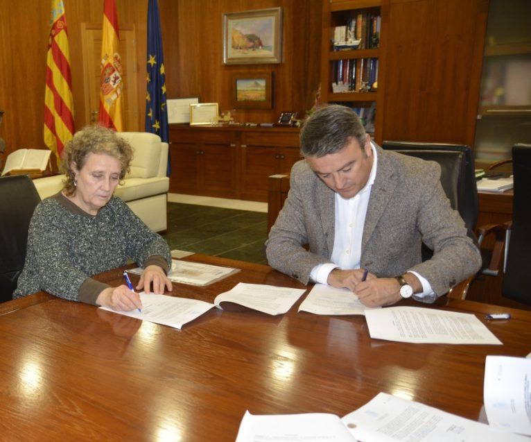Firma Convenio colaboración