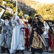 Los reyes magos a su llegada a Xàbia
