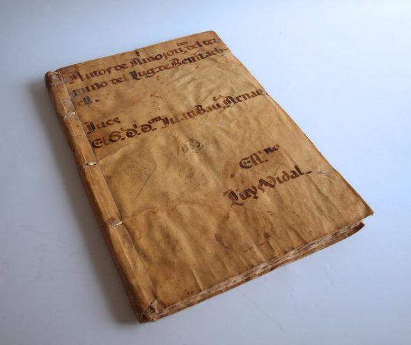 Presentacion Libro pergamino