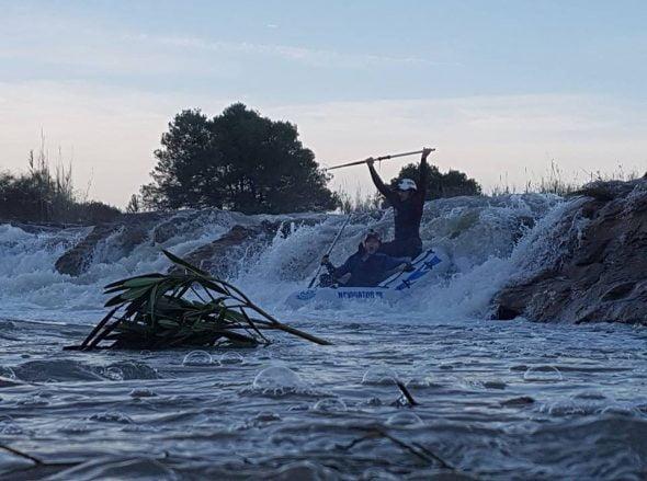Rafting río gorgos