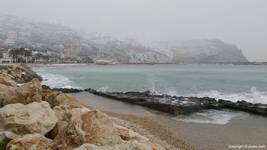 02 Nieve Playa La Grava