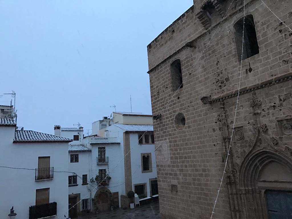 04 Nieve en Xàbia