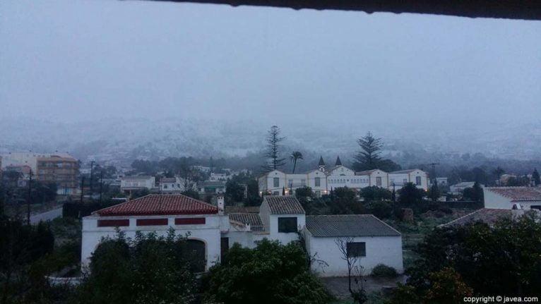 05 Nieve en Xàbia