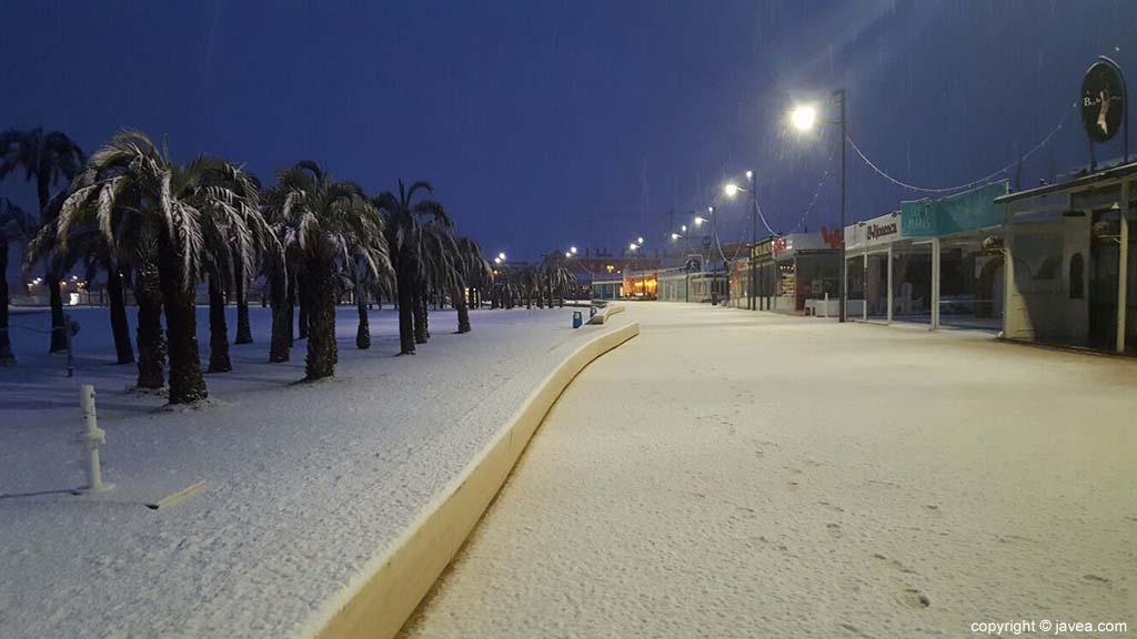07 Nieve en Xàbia