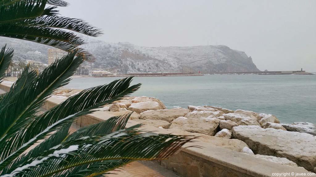 08 Nieve en Xàbia