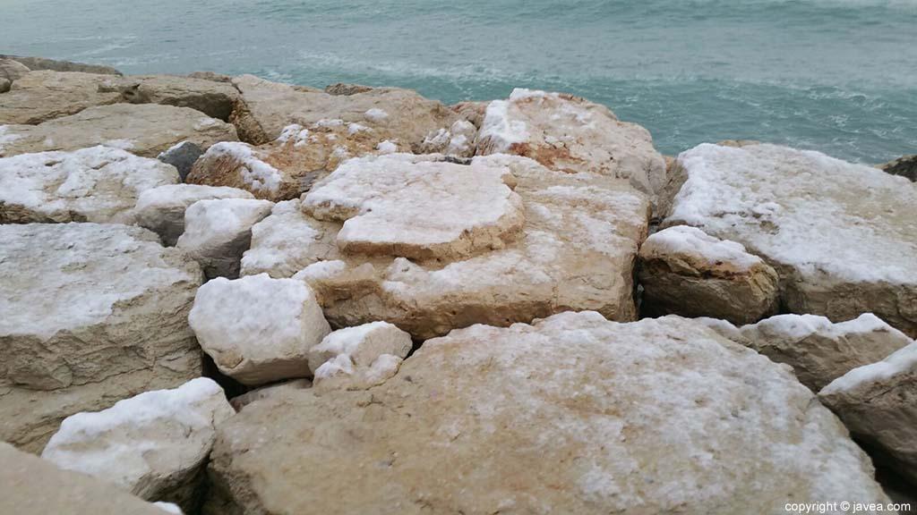 09 Nieve en Xàbia