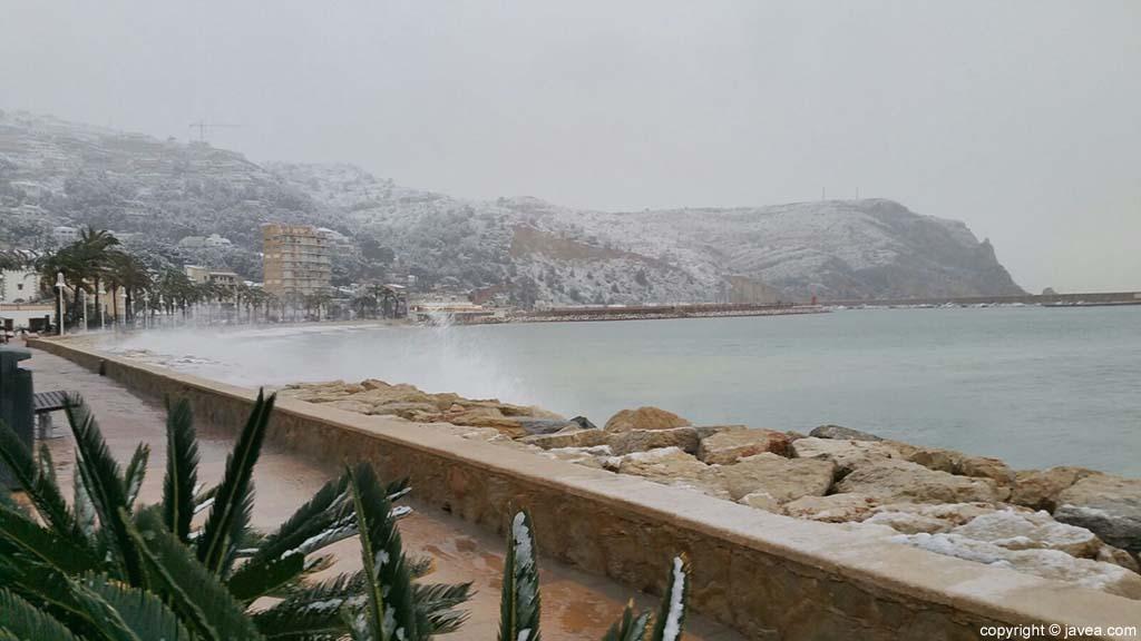 10 Nieve en Xàbia