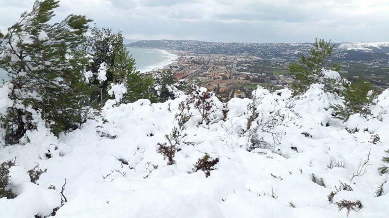 100 Nieve en Xàbia
