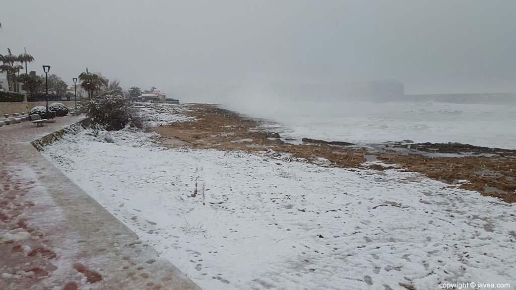 104 Nieve en Xàbia