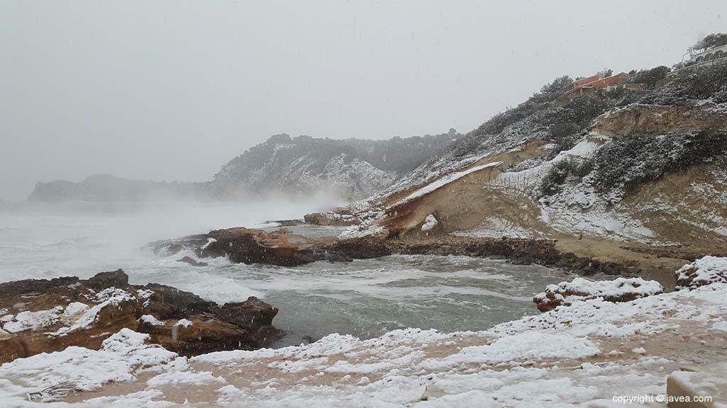 105 Nieve en Xàbia