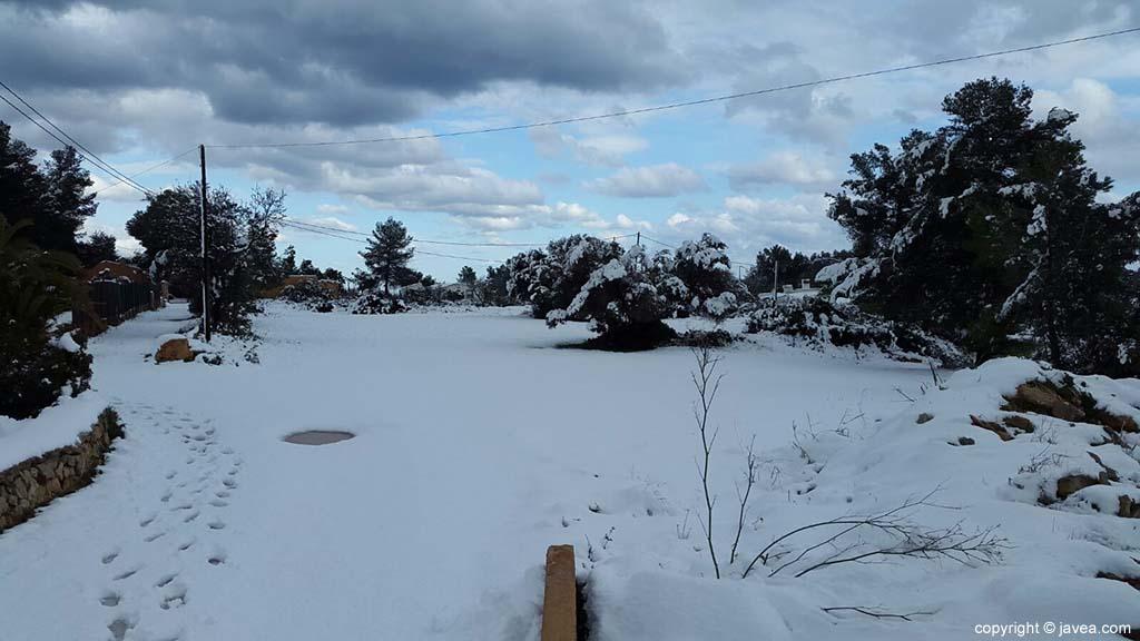 106 Nieve en Xàbia