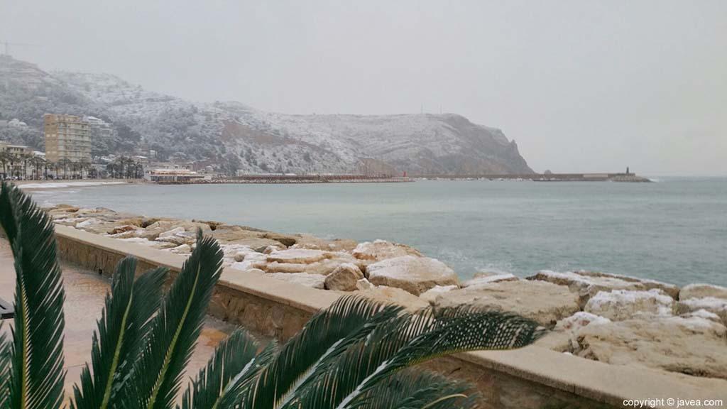 11 Nieve en Xàbia
