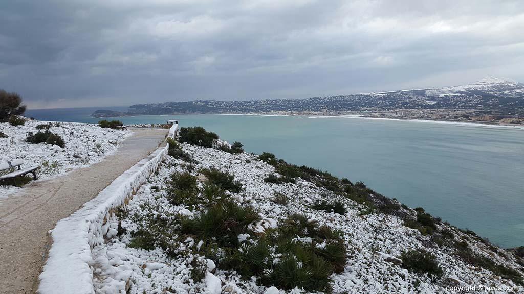 110 Nieve en Xàbia