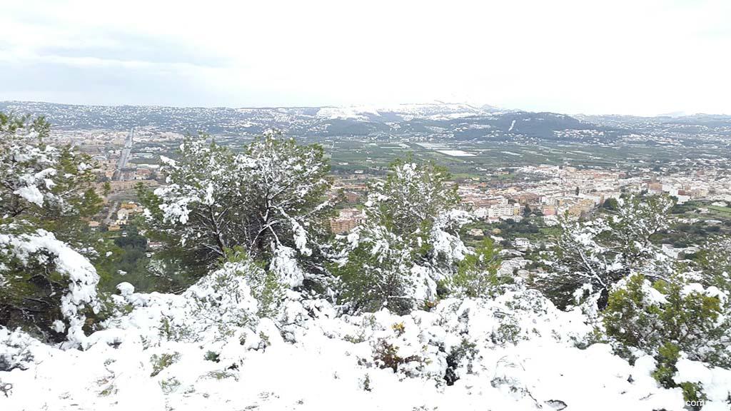 115 Nieve en Xàbia