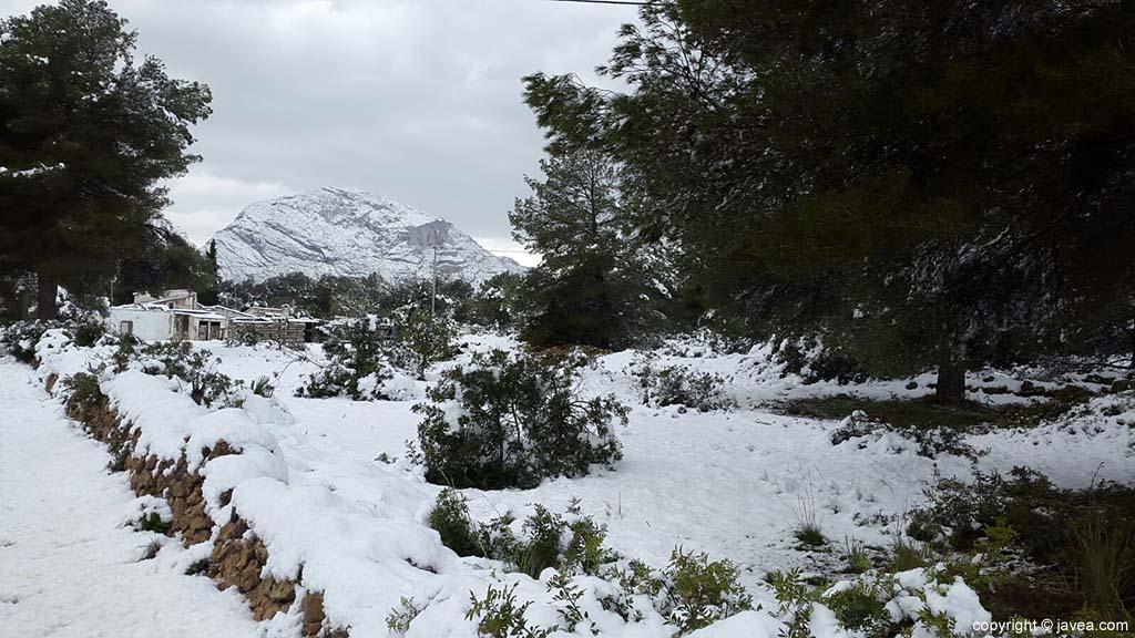 118 Nieve en Xàbia