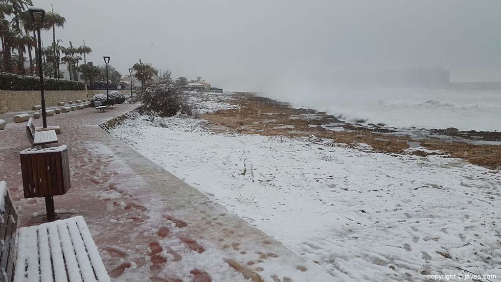 119 Nieve en Xàbia