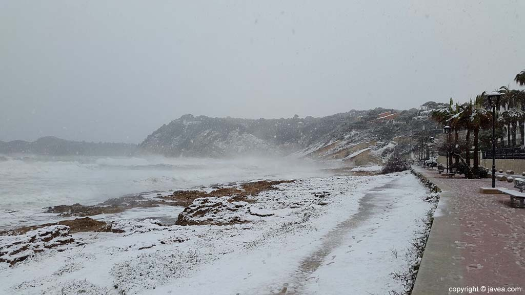 120 Nieve en Xàbia