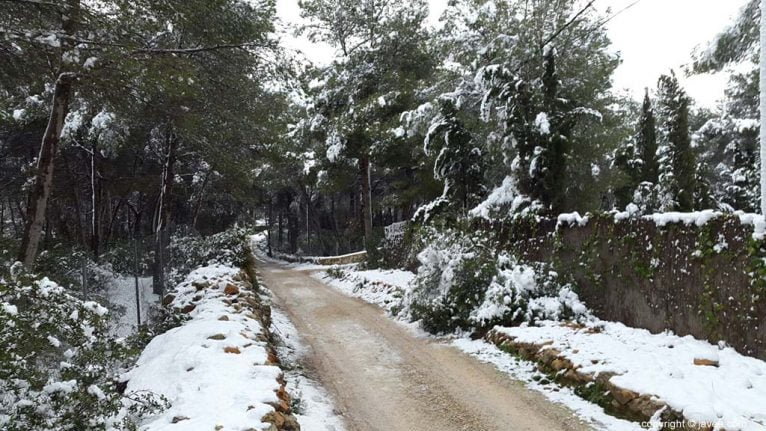 121 Nieve en Xàbia