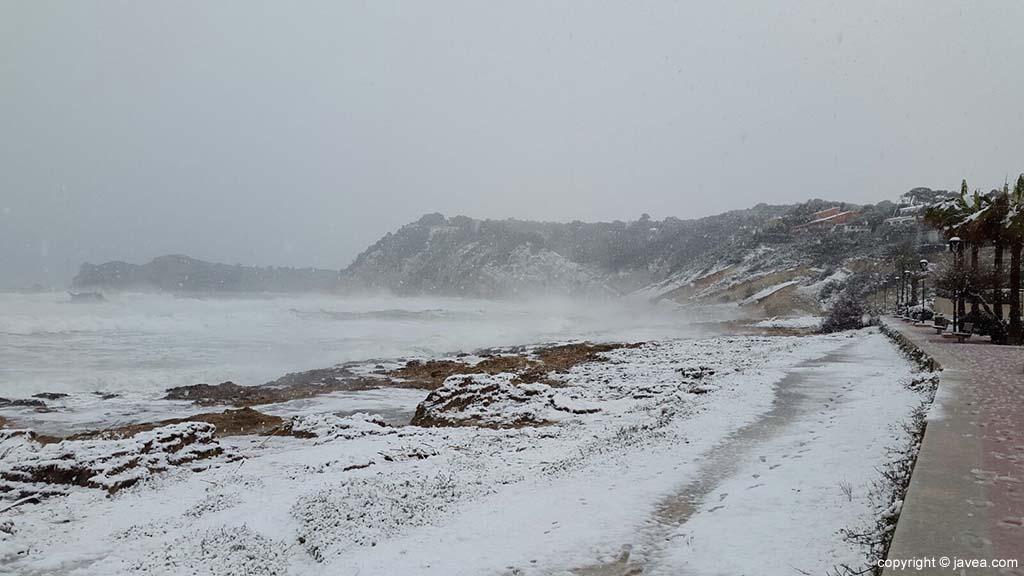 122 Nieve en Xàbia