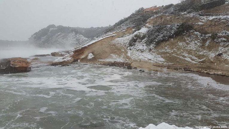 123 Nieve en Xàbia