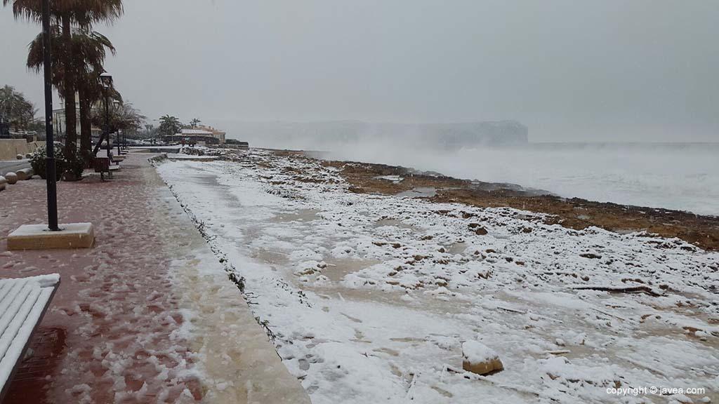 124 Nieve en Xàbia