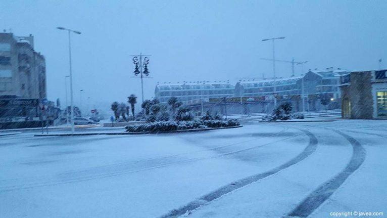 38 Nieve en Xàbia