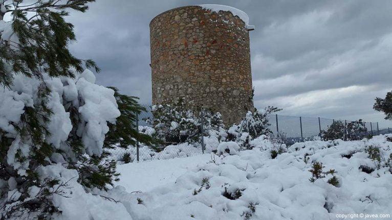 80 Nieve en Xàbia