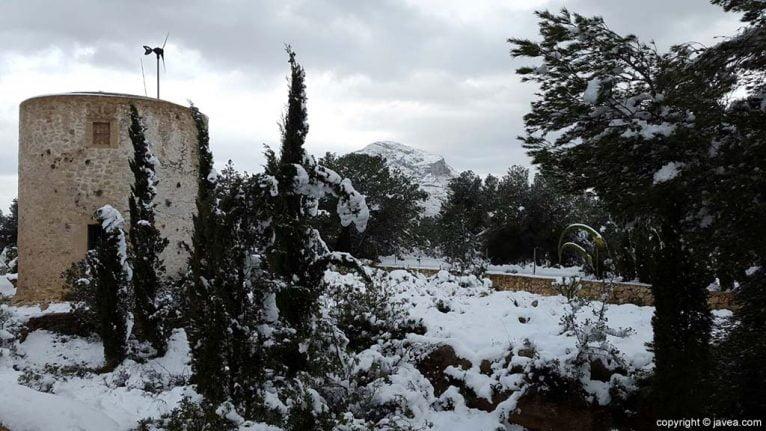 86 Nieve en Xàbia