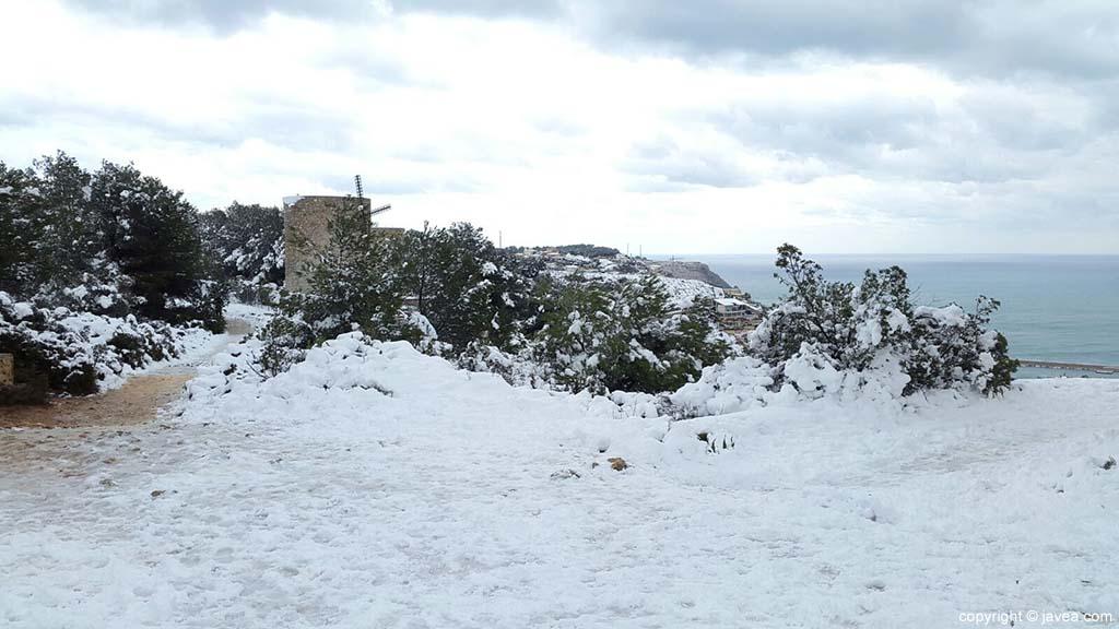 87 Nieve en Xàbia