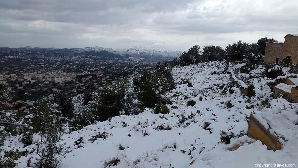 88 Nieve en Xàbia