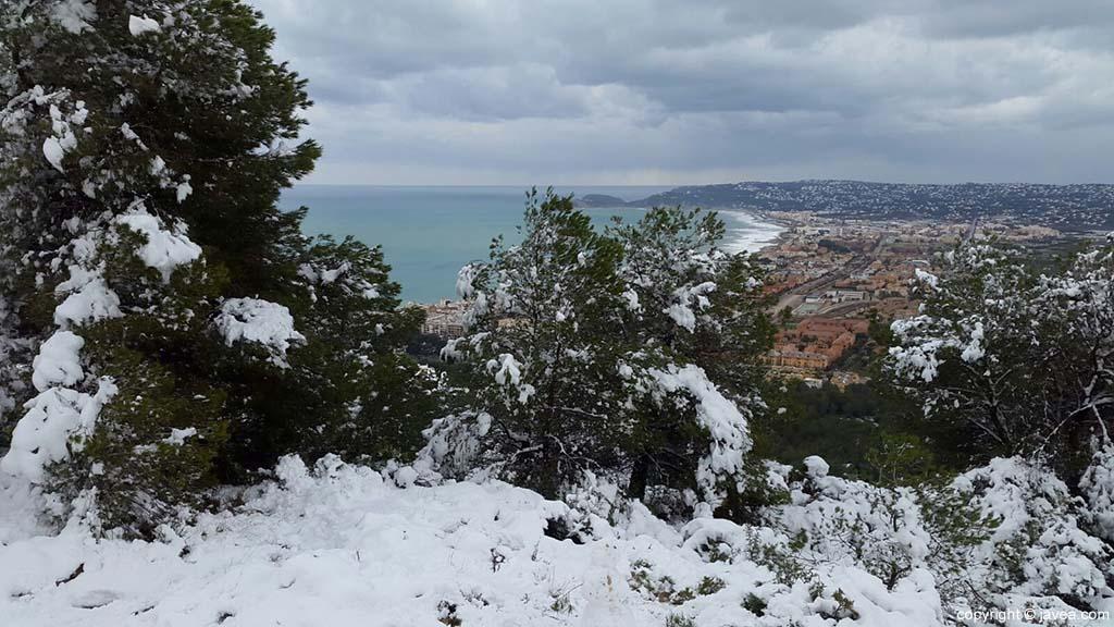 94 Nieve en Xàbia
