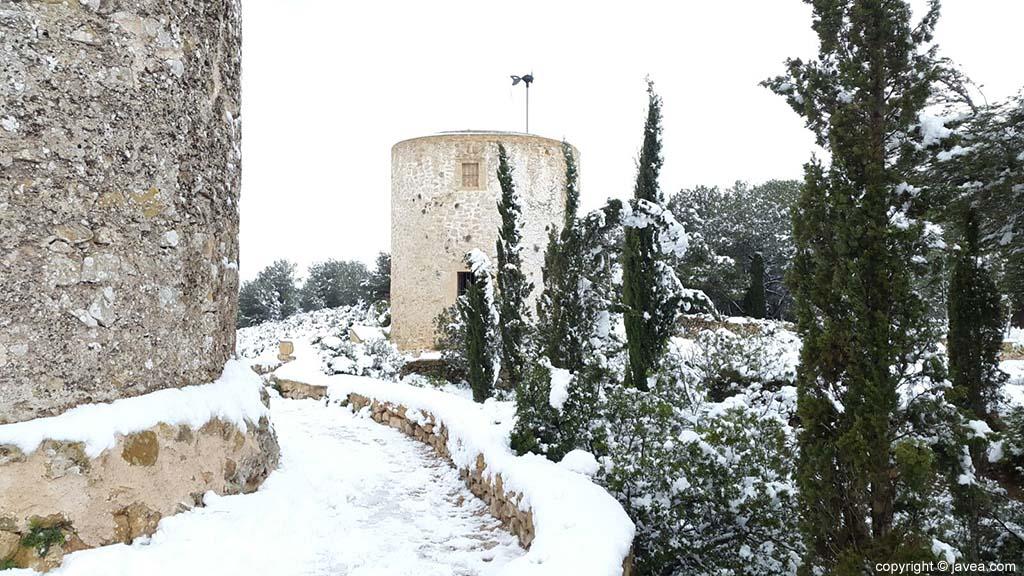 95 Nieve en Xàbia