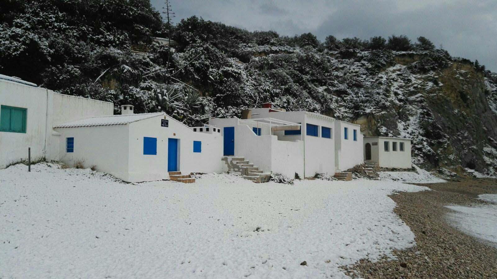 98 Nieve en Xàbia